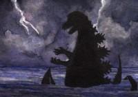 Life of Sci Fi Series - Richard Parker played by Godzilla