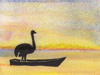 Life of Pi Series - Richard Parker played by an Ostrich
