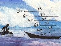 Life of Pi Series - Richard Parker played by an Elegant Continued Fraction for Pi, from L. J. Lange (1999), Pi played by Pi