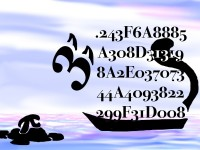 Life of Pi Series - Richard Parker played by the first 50 hexadecimal digits of Pi, Pi played by Pi