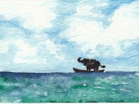 Life of Pi Series - Richard Parker played by a Water Buffalo