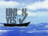 Life of Pi Series - Richard Parker played by the UNION YES logo