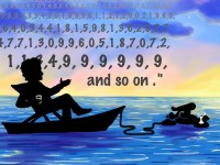 Life of Pi Series - Richard Parker played by Richard Feynman, Pi played by Pi
