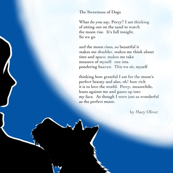 The Sweetness of Dogs by Mary Oliver